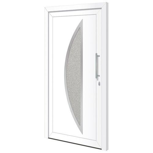 RORO Türen & Fenster Haustür »Otto 15«, BxH: 110x210 cm, weiß, ohne Griff