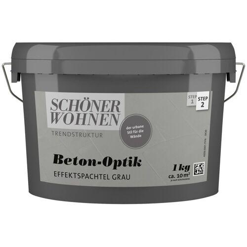 SCHÖNER WOHNEN-Kollektion Spachtelmasse »Betonoptik Effektspachtel grau«, 1 kg