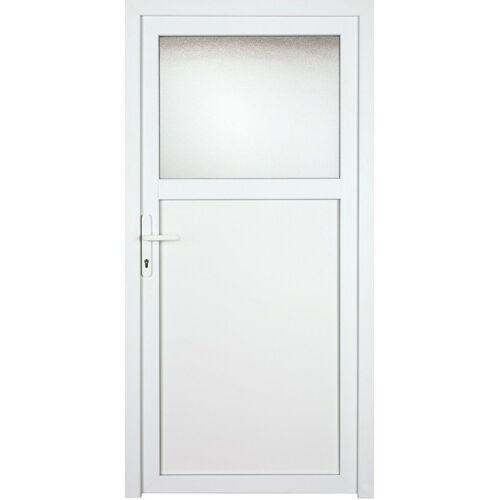 KM Zaun Nebeneingangstür »K601P«, BxH: 98x198 cm, weiß, links