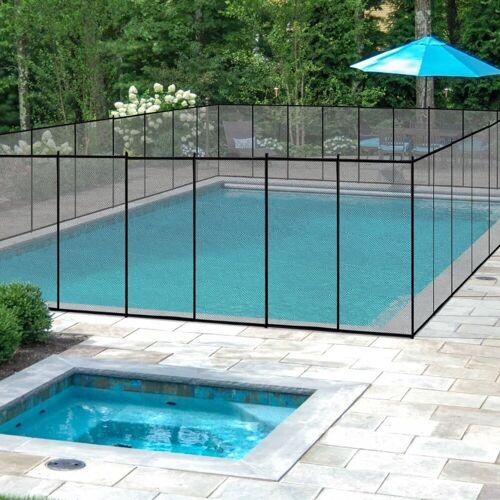 COSTWAY Pool-Sicherheitsleiter »Poolschutzaun«, kindersicher, 366x122cm