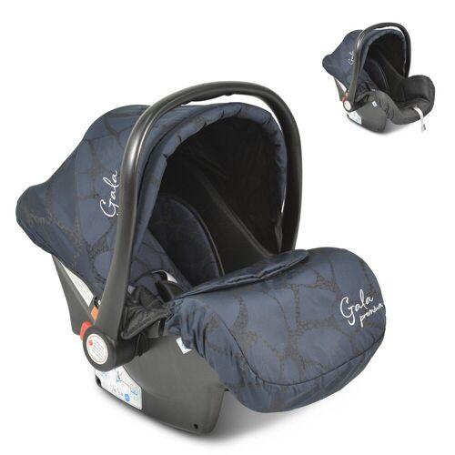 Moni Babyschale »Babyschale Gala Premium, Gruppe 0+«, 2.7 kg, (0 - 13 kg), Fußabdeckung, Sitzpolster, blau