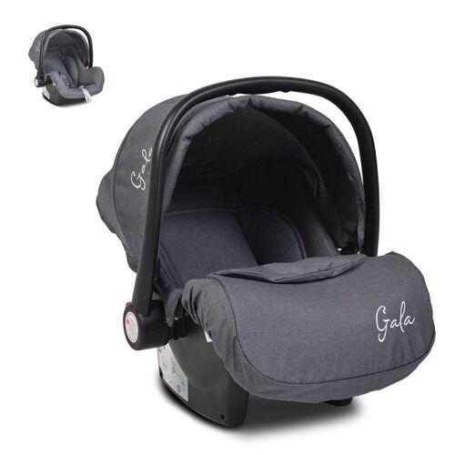 Moni Babyschale »Babyschale Gala, Gruppe 0+«, 3 kg, (0 - 13 kg), Sitzpolster, Fußabdeckung, schwarz
