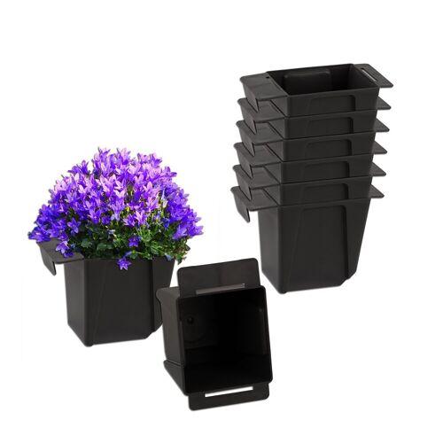 BigDean Blumenkasten »Pflanzkasten Palette Mini Kunststoff Paletten Pflanzkübel Palettenkasten Palettenpflanzkasten« (8 Stück)