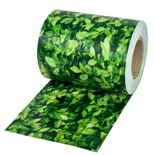 tectake Sichtschutzzug »PVC Sichtschutzfolie«, , grünes Laub