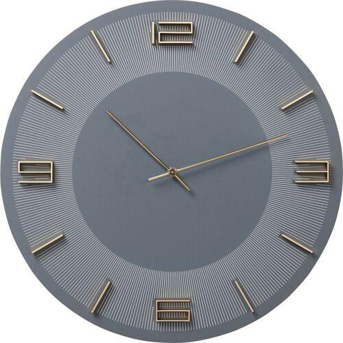 KARE Uhr »Wanduhr Leonardo GrauGold«