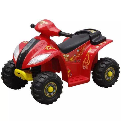 vidaXL Scooter »Kinder Elektro Quad 3 km/h Akku«, Rot