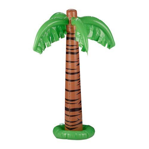 relaxdays Aufblasbares Partyzubehör »Aufblasbare Palme XL«