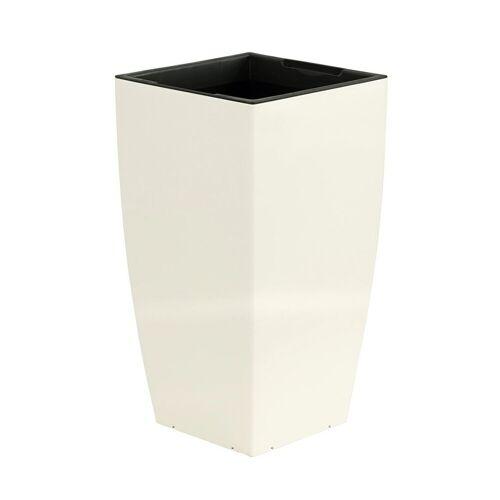 Dehner Blumentopf »mit Bewässerungssystem, 57 x 30 x 30 cm«, Weiß