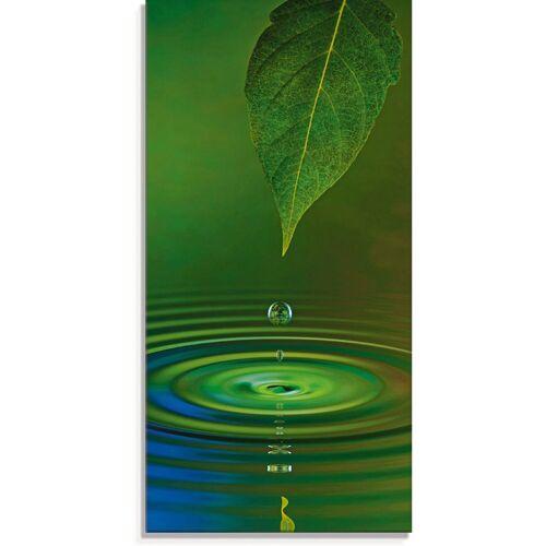 Artland Glasbild »Wassertropfen«, Zen (1 Stück)