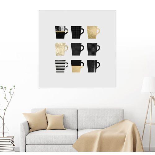 Posterlounge Wandbild, Kaffee