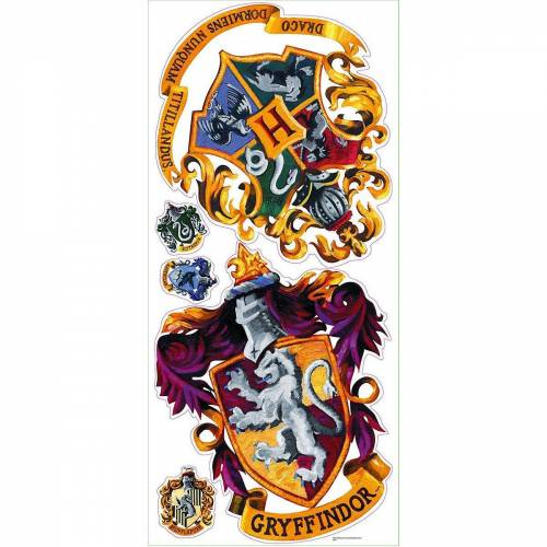 RoomMates Wandsticker »Wandsticker, Harry Potter Crest«