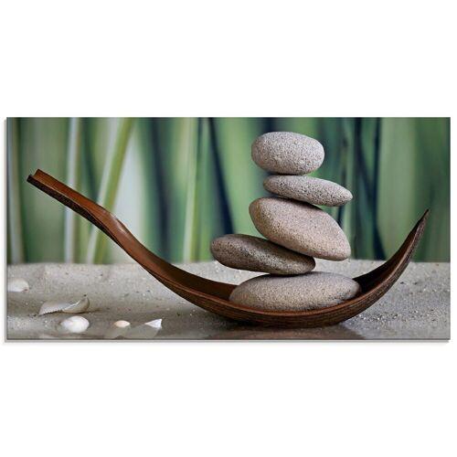 Artland Glasbild »Gleichgewicht«, Zen (1 Stück)