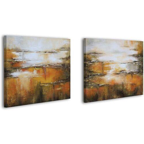 ART YS-Art Gemälde »Goldenes Vlies 088«