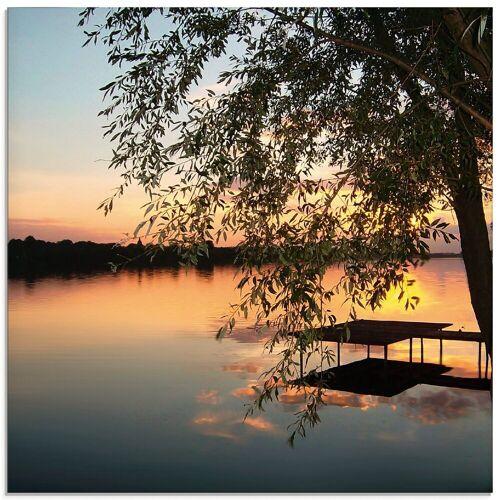 Artland Glasbild »Landschaftsfotografie«, Gewässer (1 Stück)