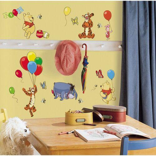 RoomMates Wandsticker »Wandsticker Winnie the Pooh, 38-tlg.«