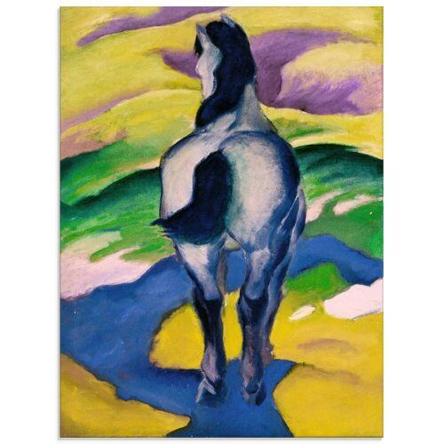 Artland Glasbild »Blaues Pferd II. 1911«, Haustiere (1 Stück)