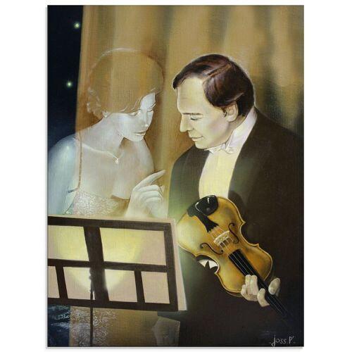 Artland Glasbild »Musik Geist«, Musiker (1 Stück)