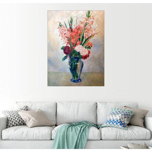 Posterlounge Wandbild, Vase mit Gladiolen