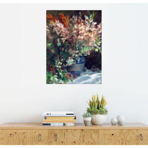 Posterlounge Wandbild, Gladiolen in einer Vase
