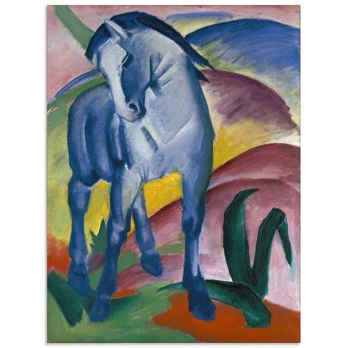 Artland Glasbild »Blaues Pferd I. 1911.«, Haustiere (1 Stück)