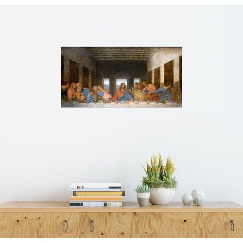 Posterlounge Wandbild, Das Abendmahl
