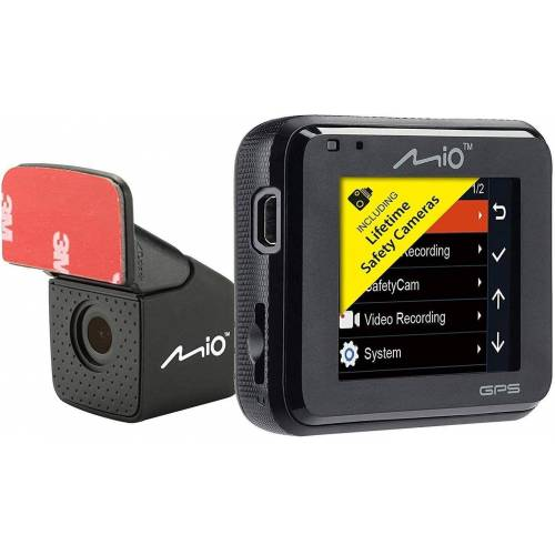 Mitac Mio »Dashcam, 5,08 cm (2 zoll) Bildschirm« Rückfahrkamera (Full HD, MiVue C380 Dual)