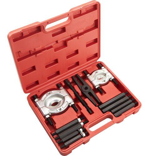 tectake Werkzeug »Lagerabzieher Set 12-tlg.«