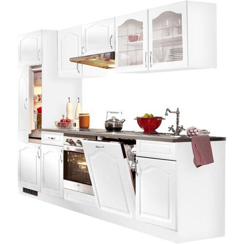 wiho Küchen Küchenzeile »Linz«, ohne E-Geräte, Breite 280 cm, Weiß