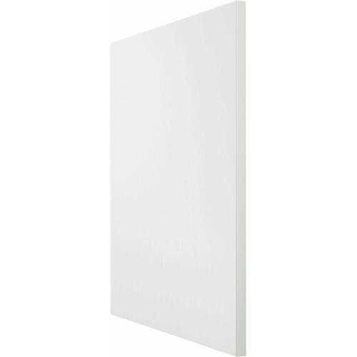 OPTIFIT Frontblende »Cara«, Tür für teilintegierbaren Geschirrspüler 60 cm, Weiß/Weiß