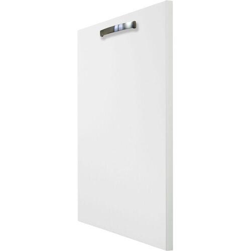 OPTIFIT Frontblende »Cara«, Tür für vollintegrierbaren Geschirrspüler 45 cm, Weiß/Weiß