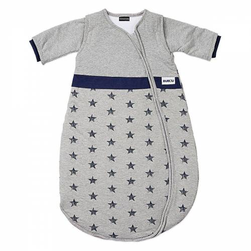 Gesslein Babyschlafsack »Schlafsack Bubou, grau/Dino, Gr. 90 cm«, blau/grau
