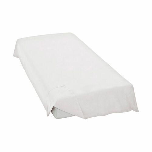 Schlafgut Bettlaken »Linon-Haustuch«, , ohne Gummizug, weiß