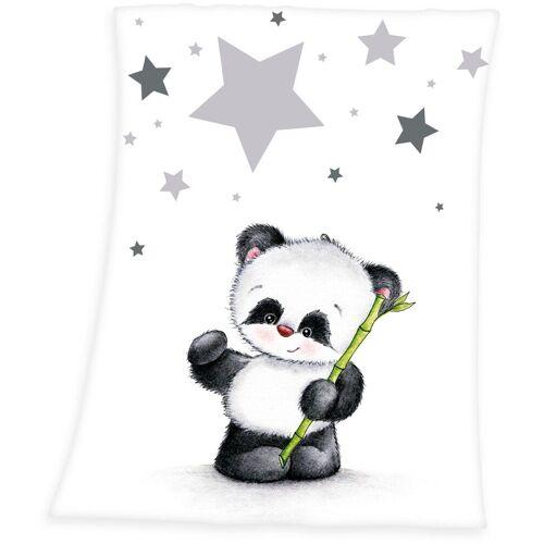 Baby Best Babydecke »Fynn Panda«, , mit Panda-Motiv