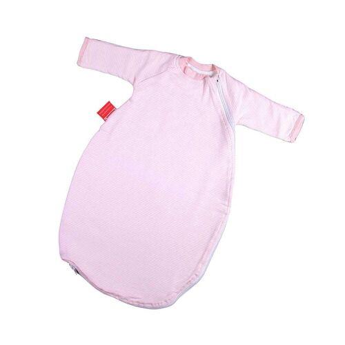 Hoppediz Babyschlafsack »HD Baby-Schlafsack 56-62 rosé gestreift mit Gurtsc«