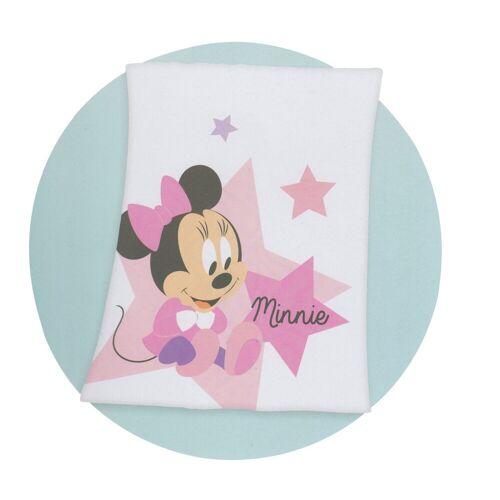 Disney Baby Babydecke, , decke Minnie Mouse Flauschdecke Kuscheldecke Krabbel Decke Tagesdecke