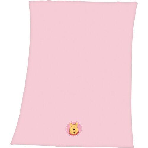 Disney Babydecke »Winnie Pooh«, , mit Winnie Pooh Applikation