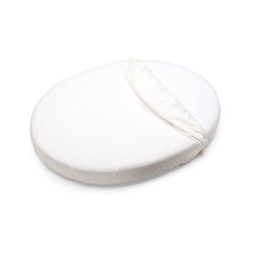 Stokke Bettlaken »Sleepi™ Mini Spannbettlaken, 80 cm, White«, , weiß