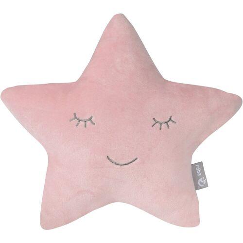 roba® Babykissen »Lil Cuties, Stern«, rosa-mauve