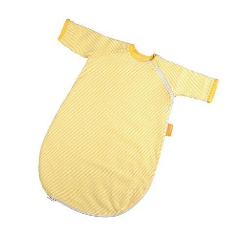 Hoppediz Babyschlafsack »HD Baby-Schlafsack 56-62 gelb gestreift mit Gurtsc«