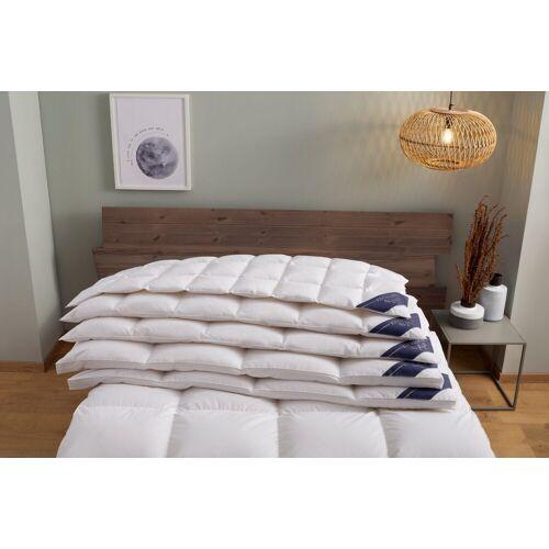 Excellent Daunenbettdecke, »WIEN«, , Füllung: 90% Daunen, 10% Federn, Bezug: 100% Baumwolle, Daunendecke in Daunenqualität , Decke, Bettdecke