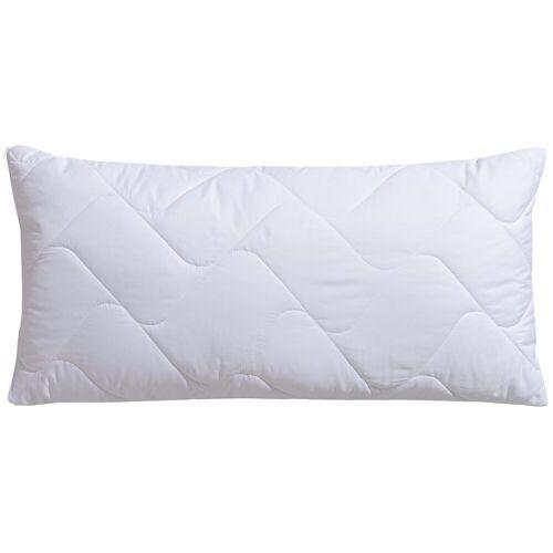 f.a.n. Schlafkomfort Microfaserkissen, »Microfaser kochfest«, , (1-tlg)