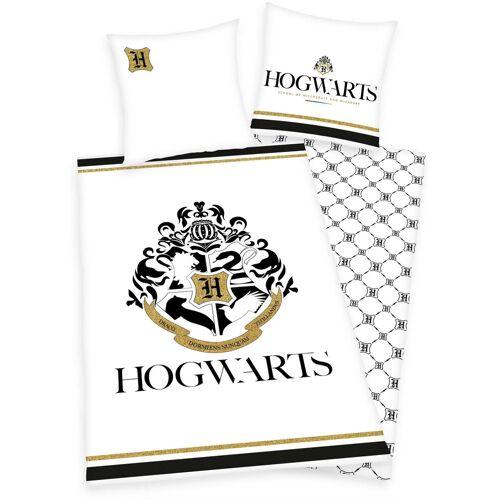 Wendebettwäsche »Hogwarts«, mit Hogwarts Logo