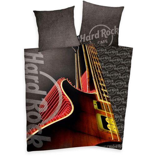 Wendebettwäsche »Hard Rock«, mit Gitarre
