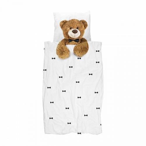 Snurk Bettwäsche »Bettwäsche Teddy 135 x 200 cm 100% Baumwolle«,