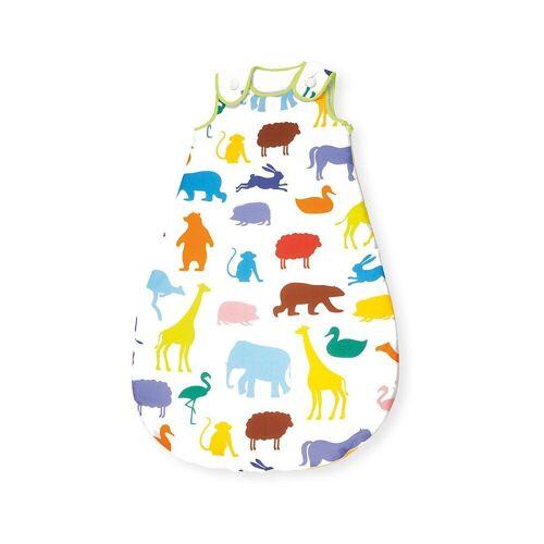 Pinolino® Babyschlafsack »Sommer-Schlafsack 'Happy Zoo, 90 cm«