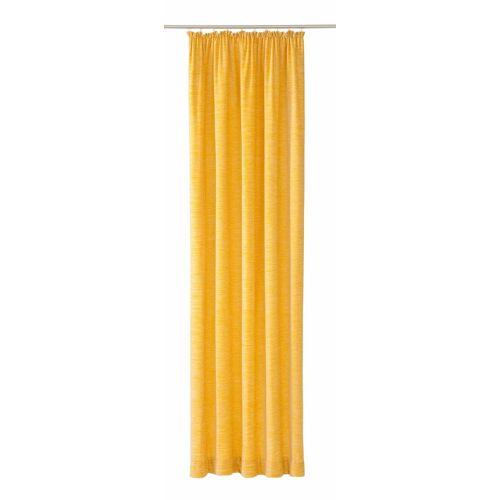 Wirth Vorhang »Warnow«, , Kräuselband (1 Stück), 270 g/m2, gelb