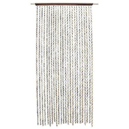 Frank Flechtwaren Vorhang »Türvorhang Fadenvorhang Bambus Fliegenvorhang Raumteiler«,