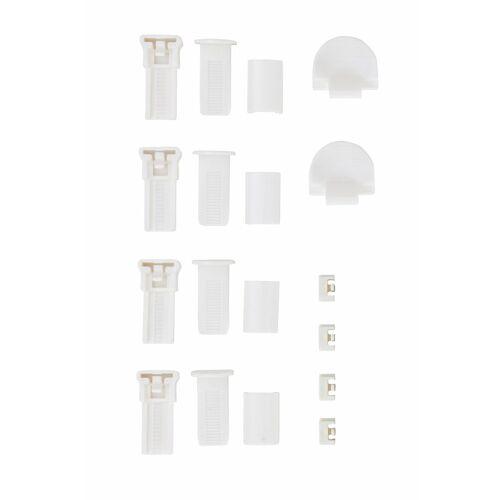 my home Klemmträger »Montagezubehör-Set«, , Plissees, (Set, 4-tlg), für Plissee