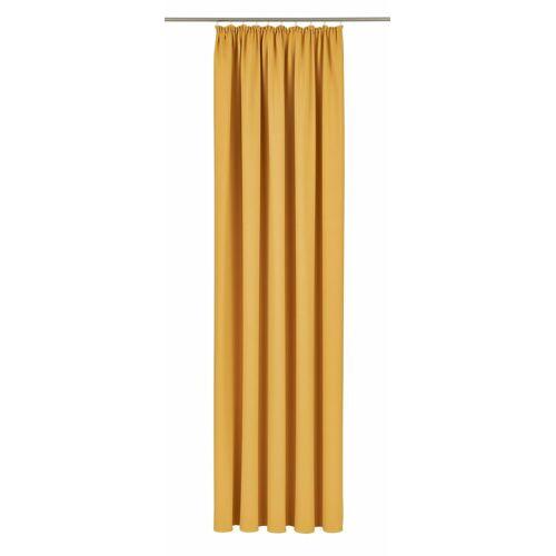 VHG Vorhang »Leon«, , Kräuselband (1 Stück), gelb