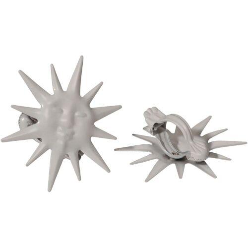 Liedeco Dekoklammer »Sonne«, , Gardinen, Vorhänge, (Packung, 2-St), für Gardinen, Vorhänge, weiß